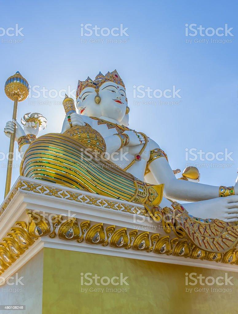 Brahma is the creator of the world stock photo