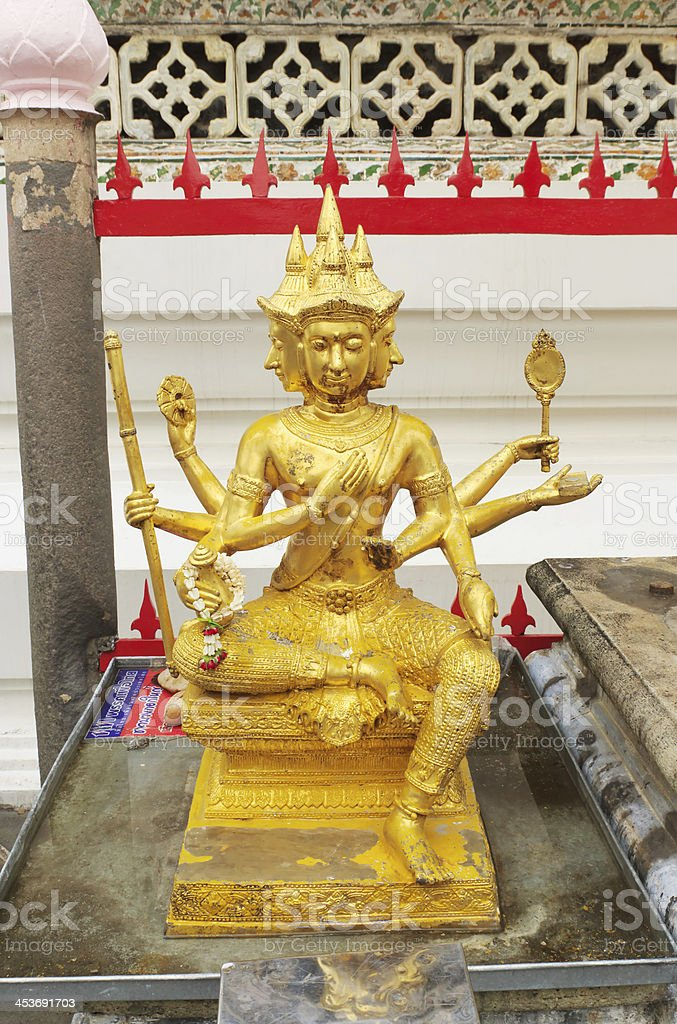 Brahma statue royalty-free stock photo