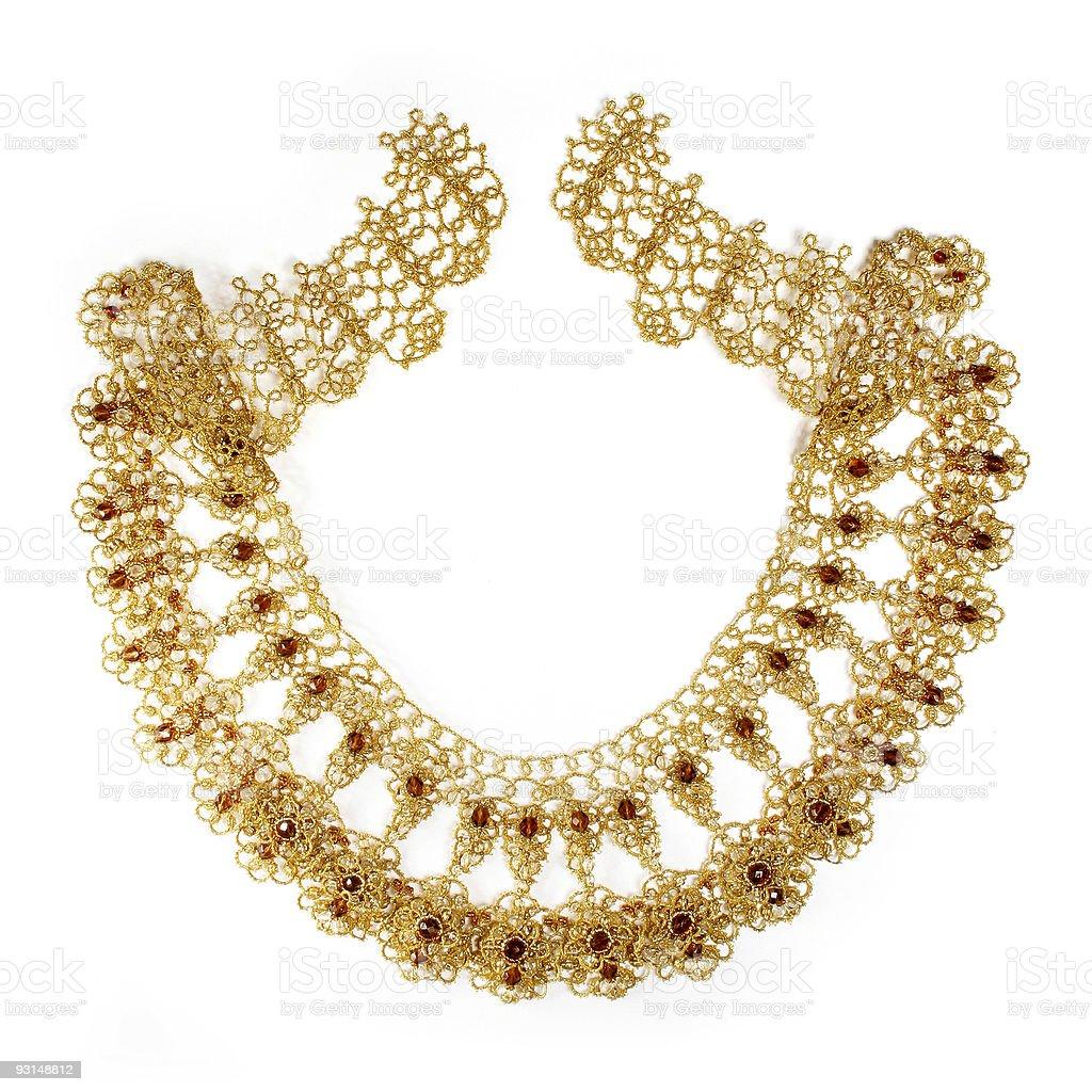 braided embellishment royalty-free stock photo