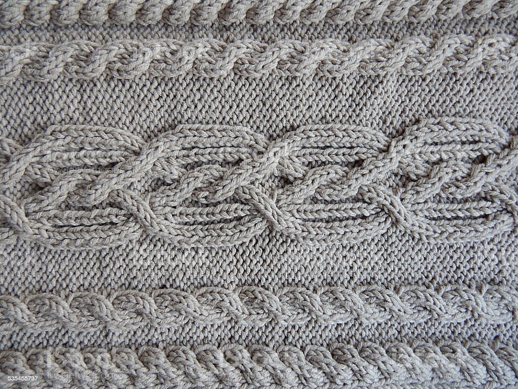 braided knit pattern royalty-free stock photo
