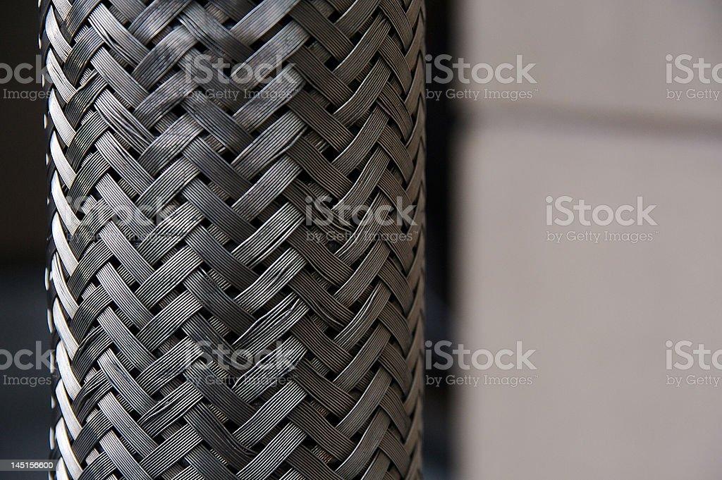 Braided Metal stock photo