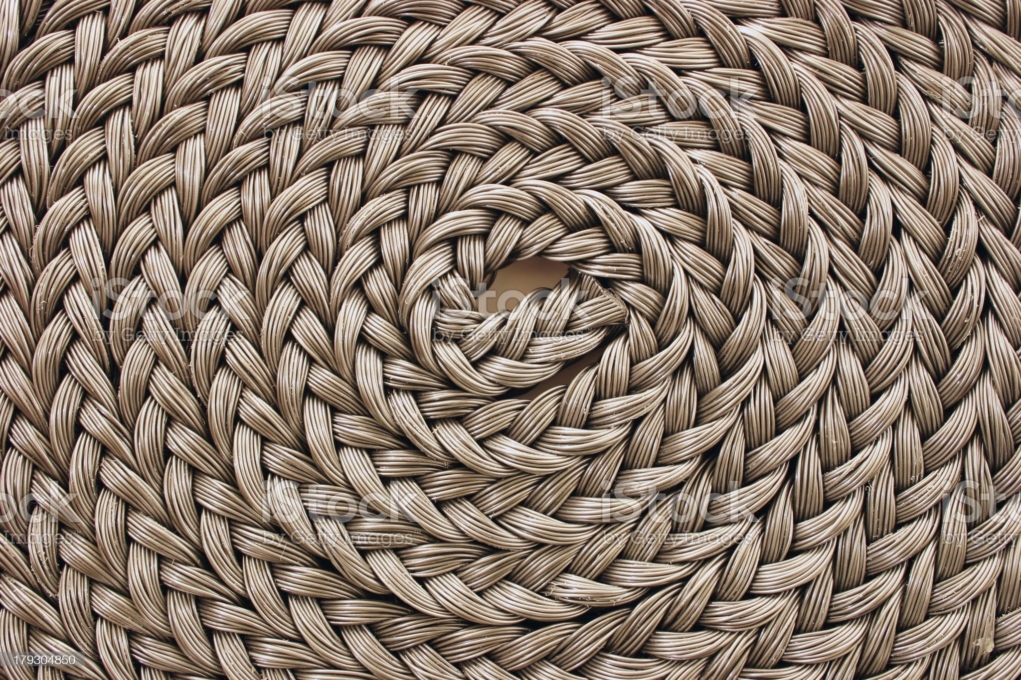 Braided rope royalty-free stock photo