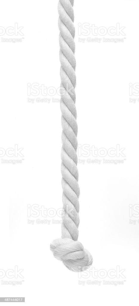 Braided rope stock photo
