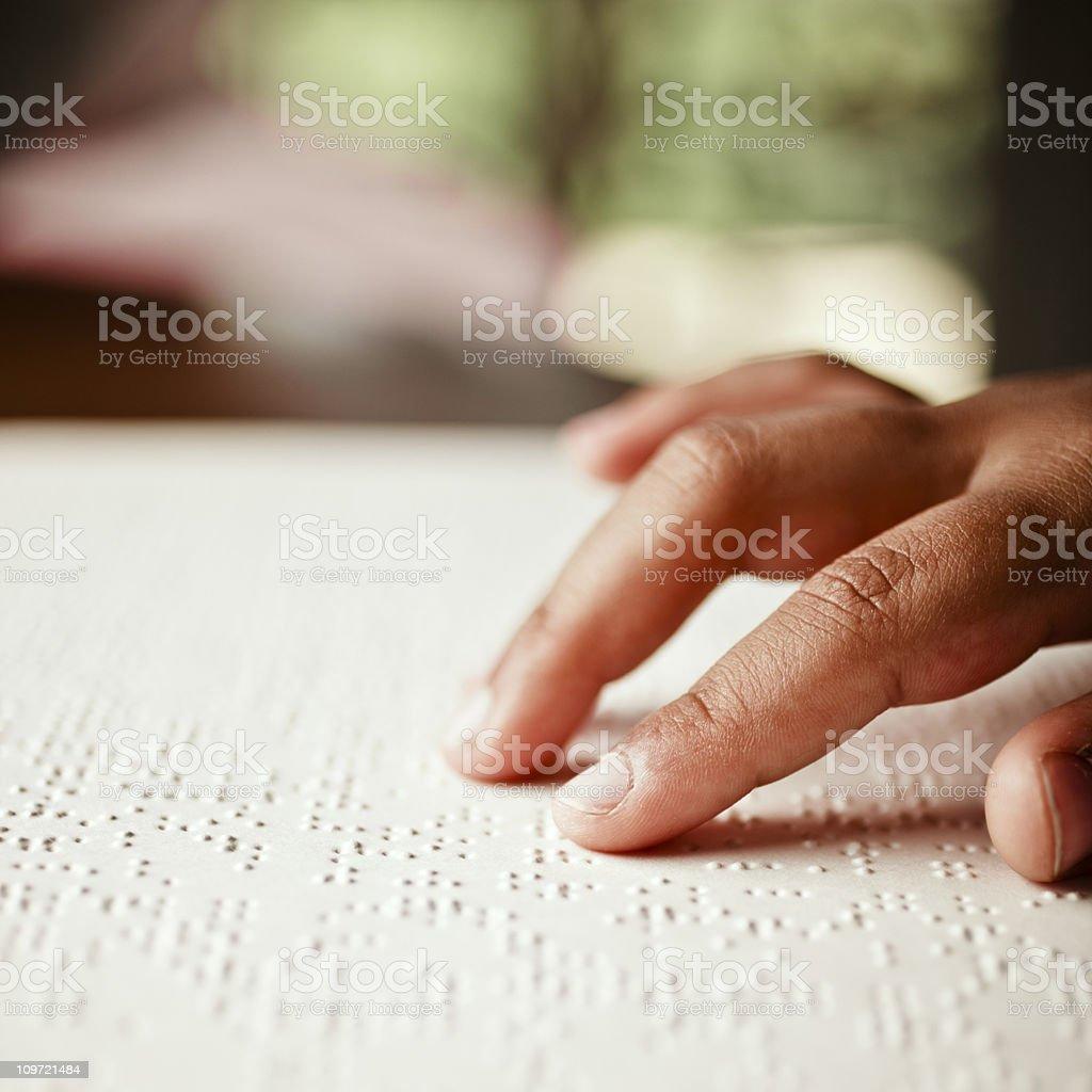 braille stock photo