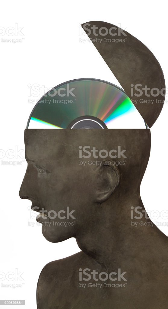 Brain Data stock photo