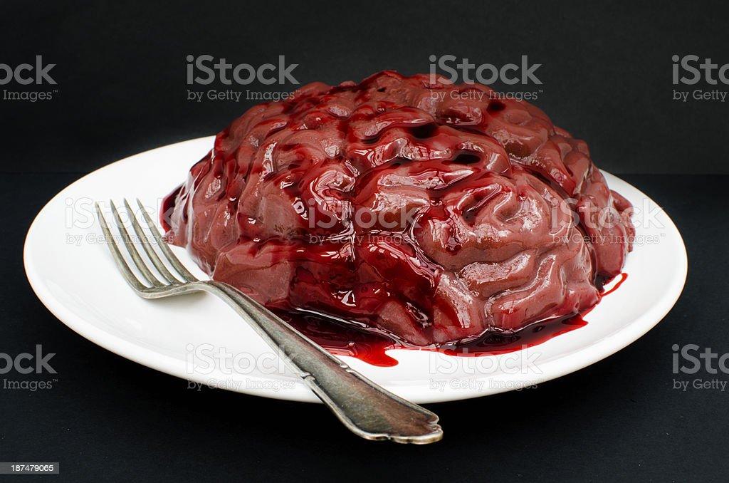 Brain Dessert royalty-free stock photo