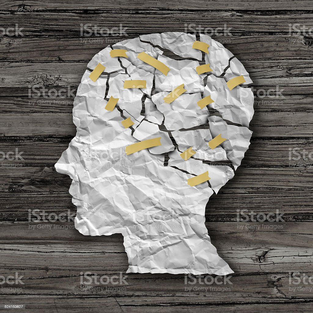 Brain Disease Therapy stock photo