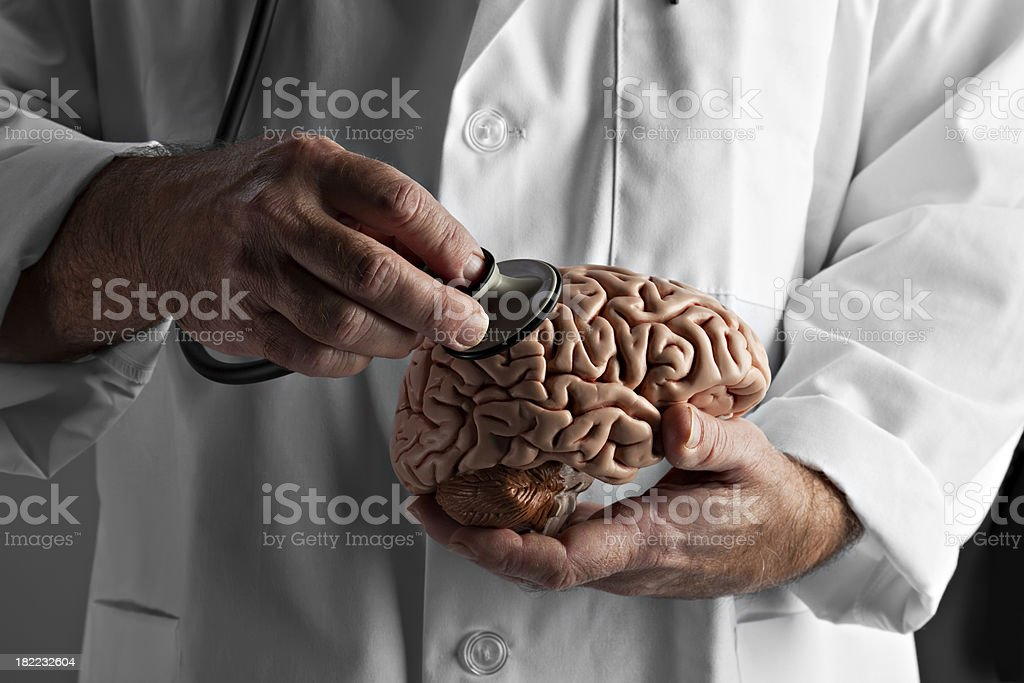Brain Examination stock photo