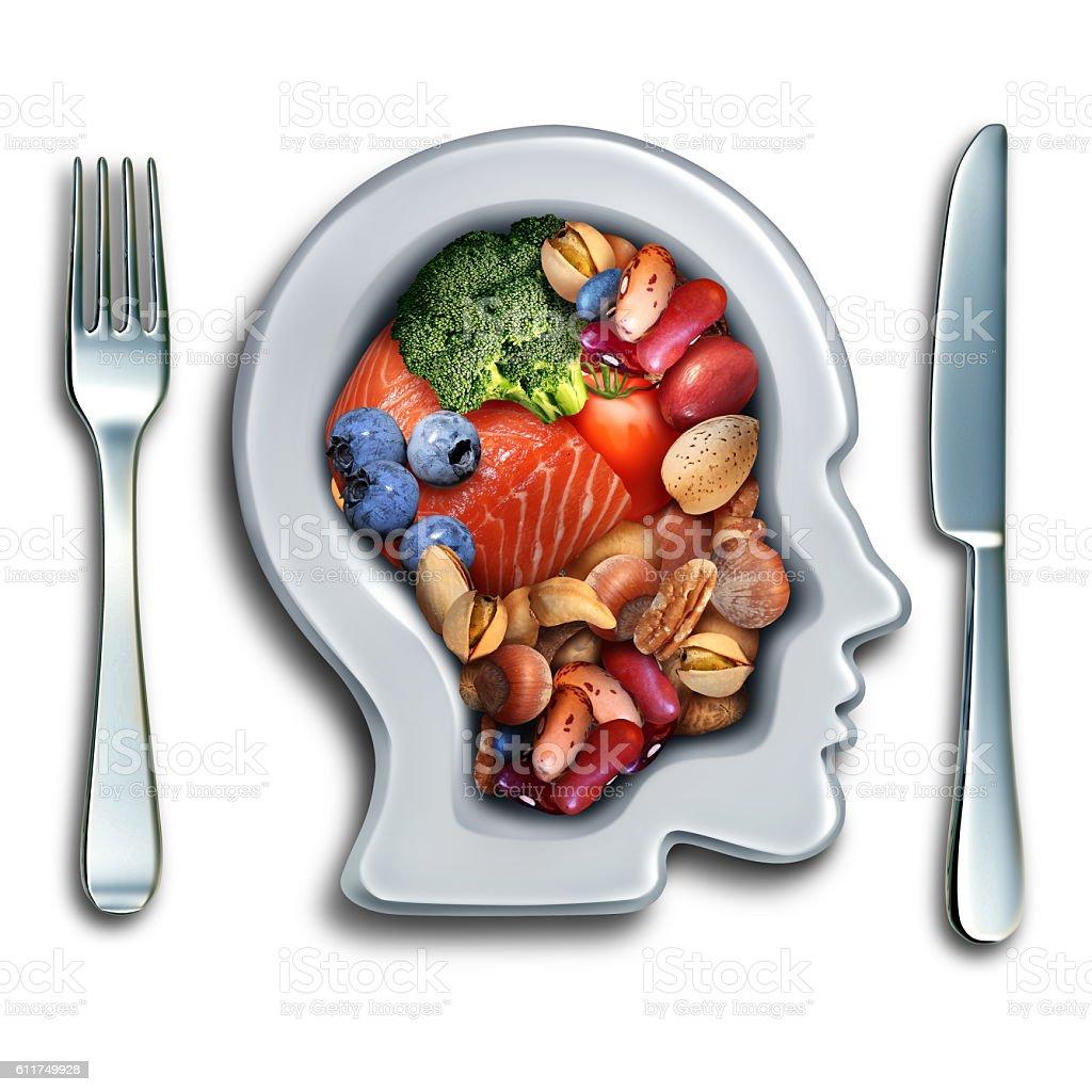 Brain Food Concept stock photo