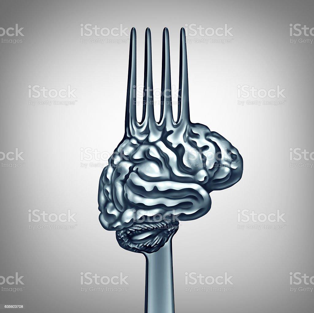 Brain Food Symbol stock photo