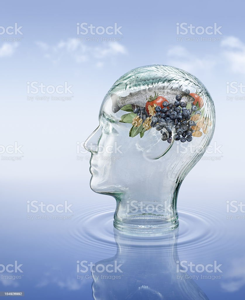 Brain Foods stock photo