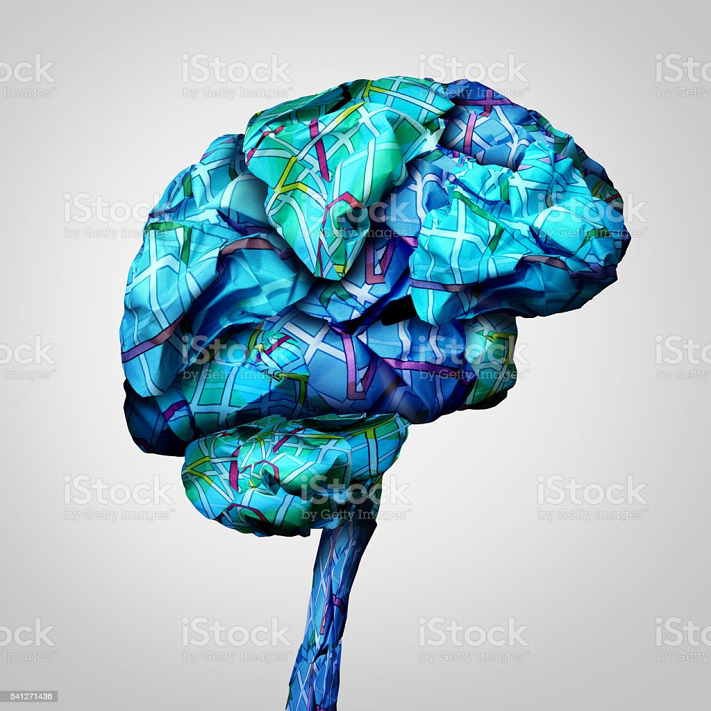 Brain Mapping stock photo
