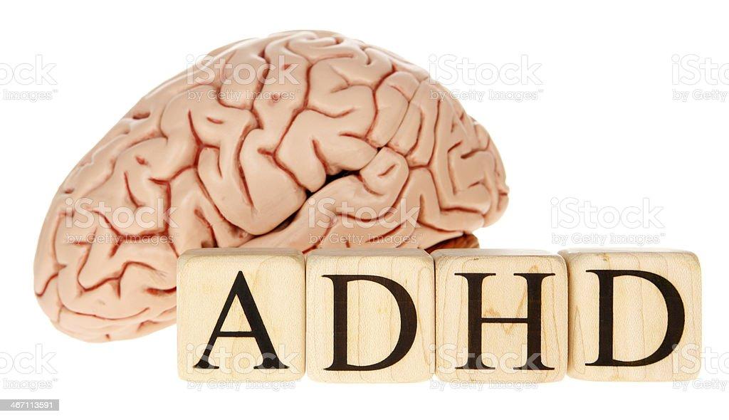 ADHD Brain stock photo
