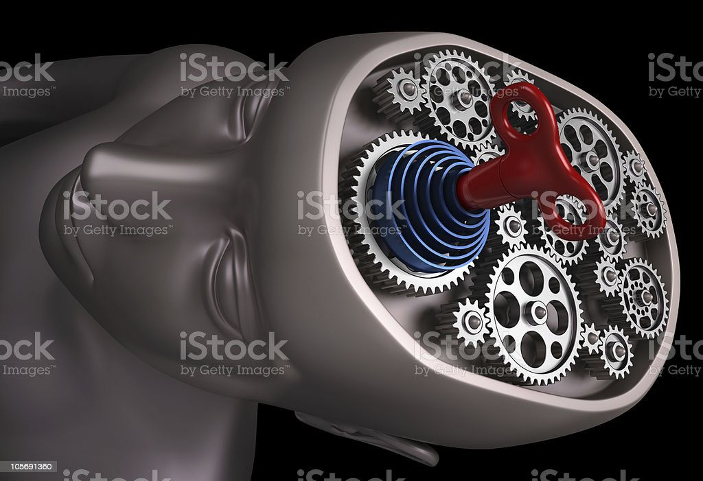 Brain Powered Rope stock photo