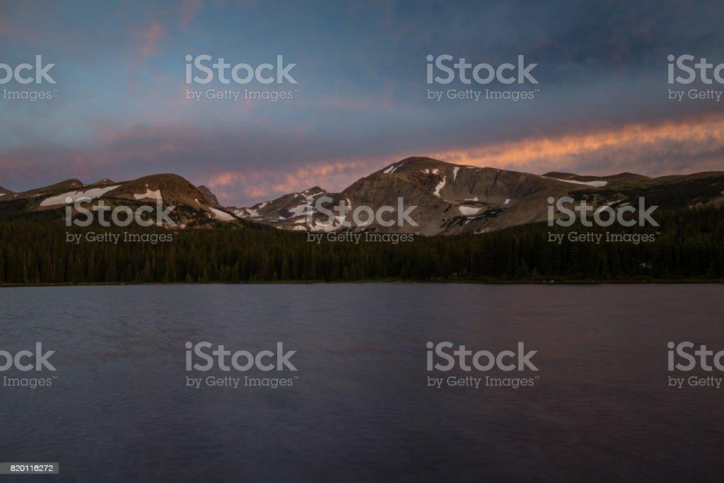 Brainard Lake stock photo