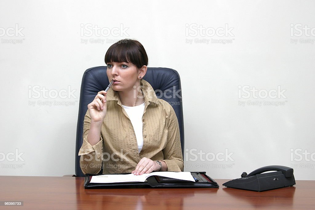 brainstorm in the office royalty-free stock photo