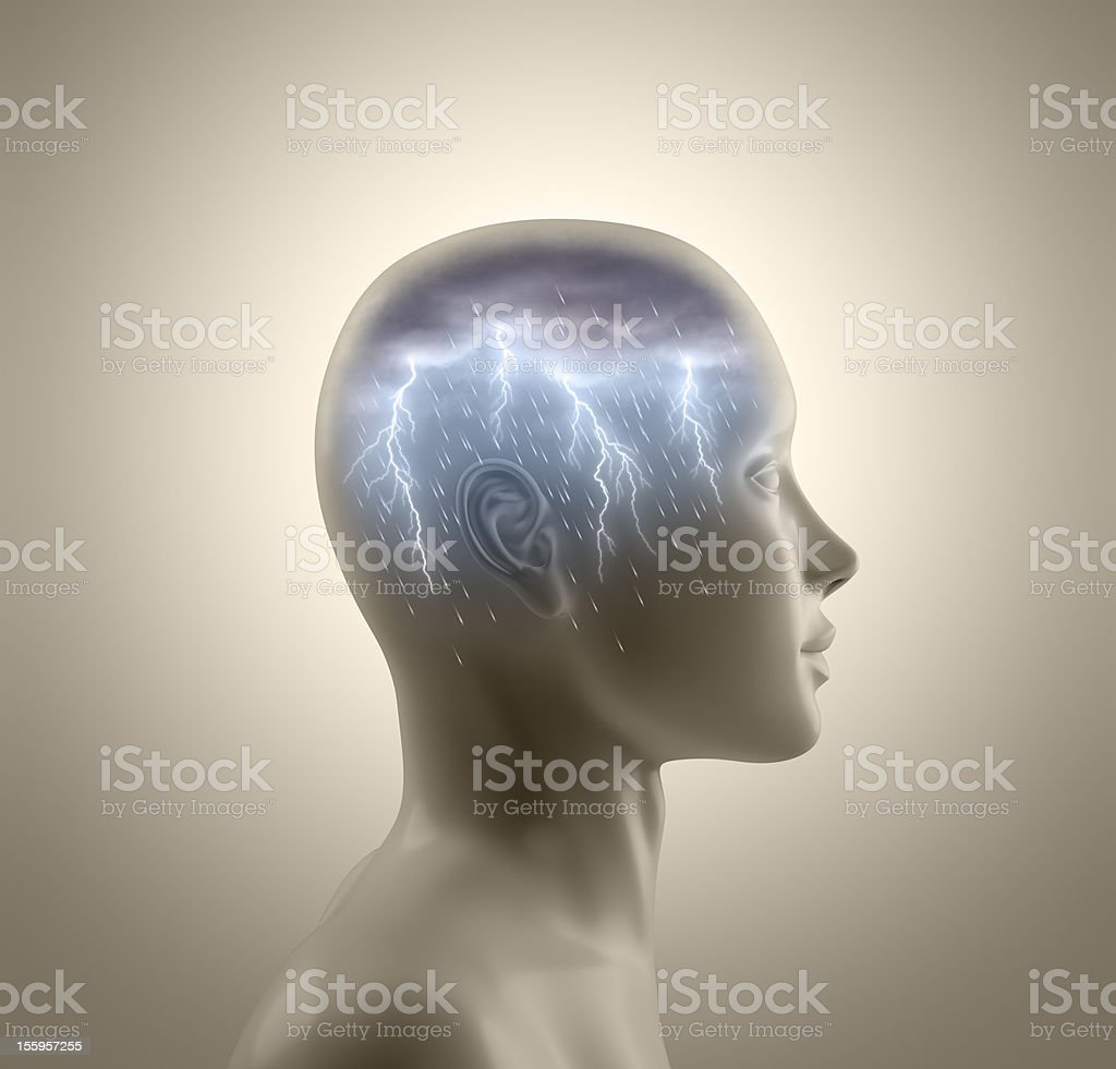 Brainstorm stock photo