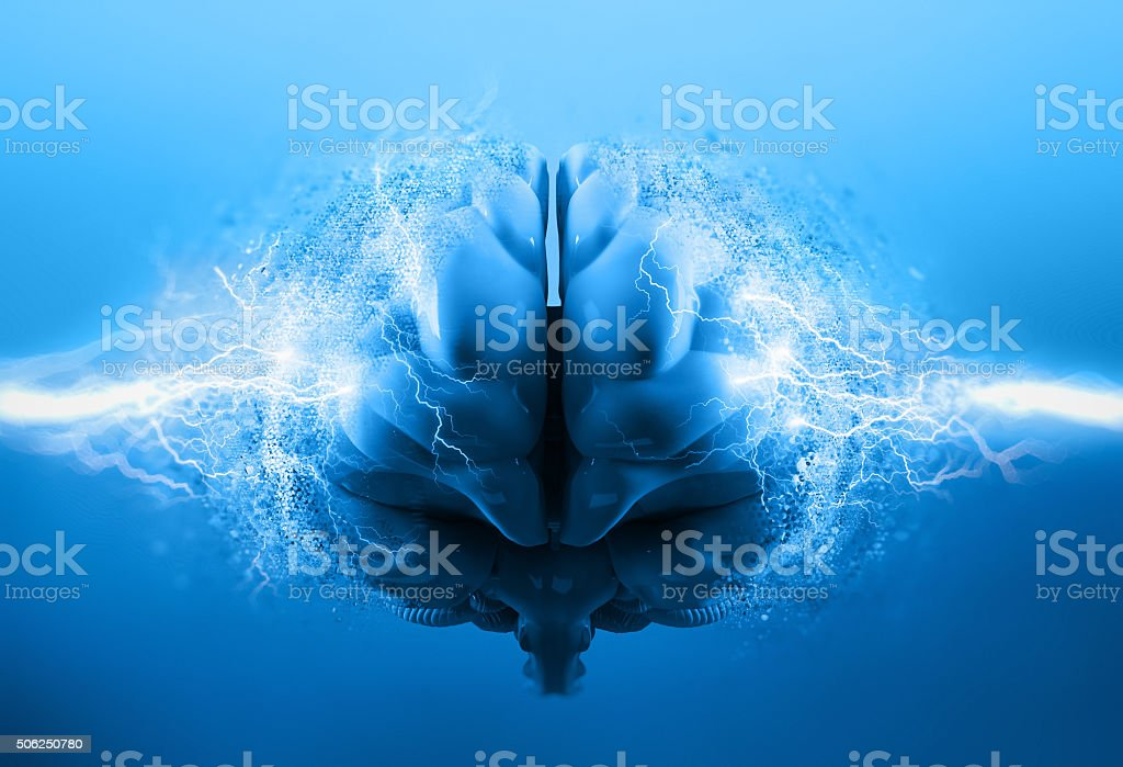 brainstorm stock photo