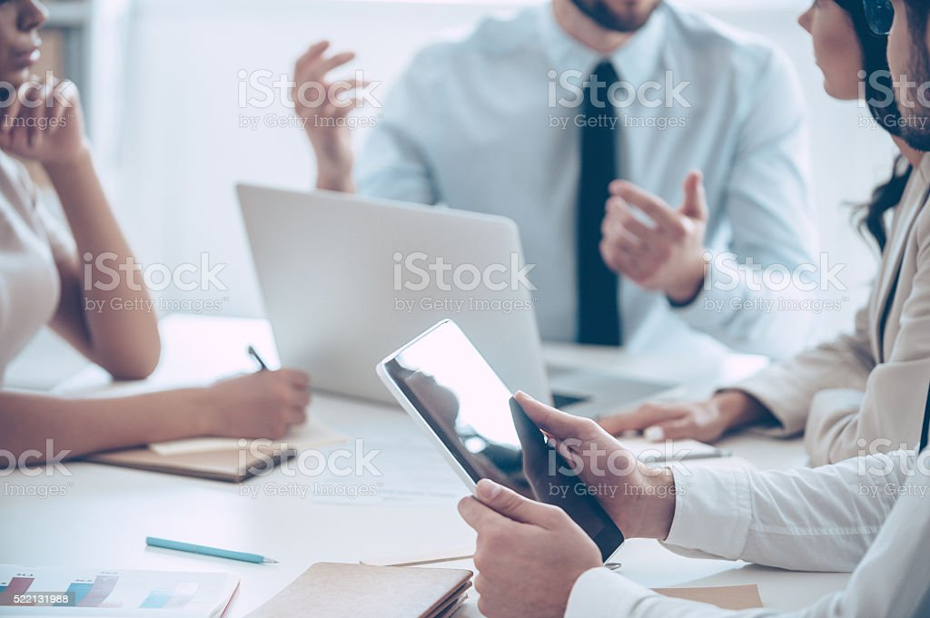 Brainstorm. stock photo
