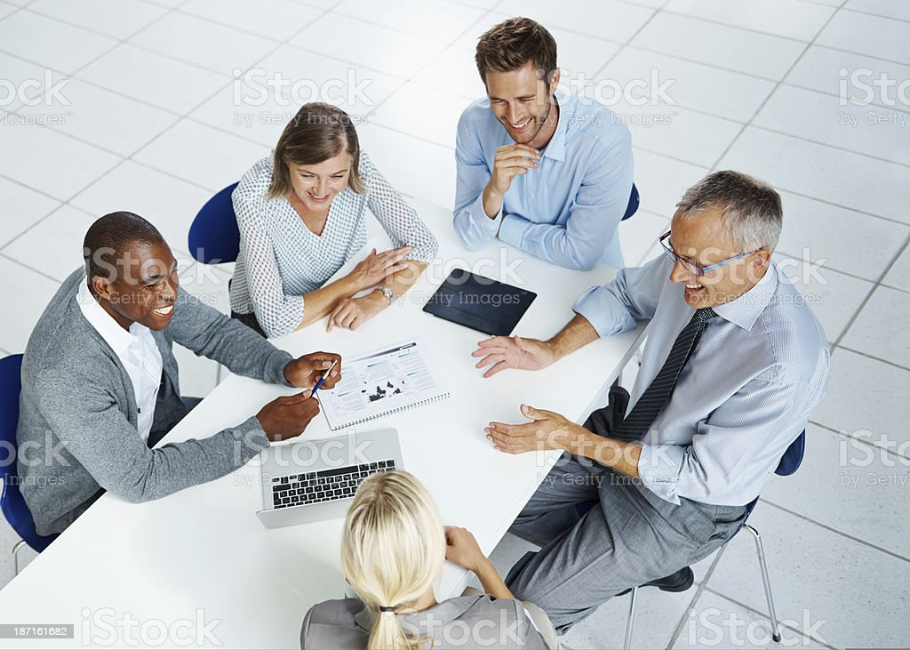 Brainstorming better ideas! royalty-free stock photo