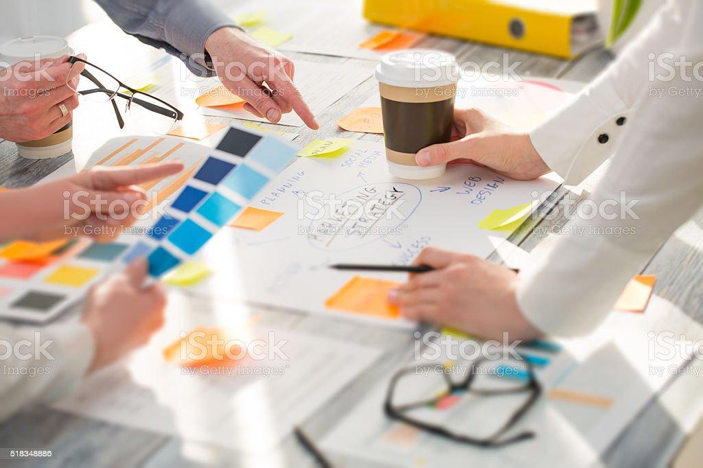 Brainstorming Brainstorm Business People Design Concepts stock photo