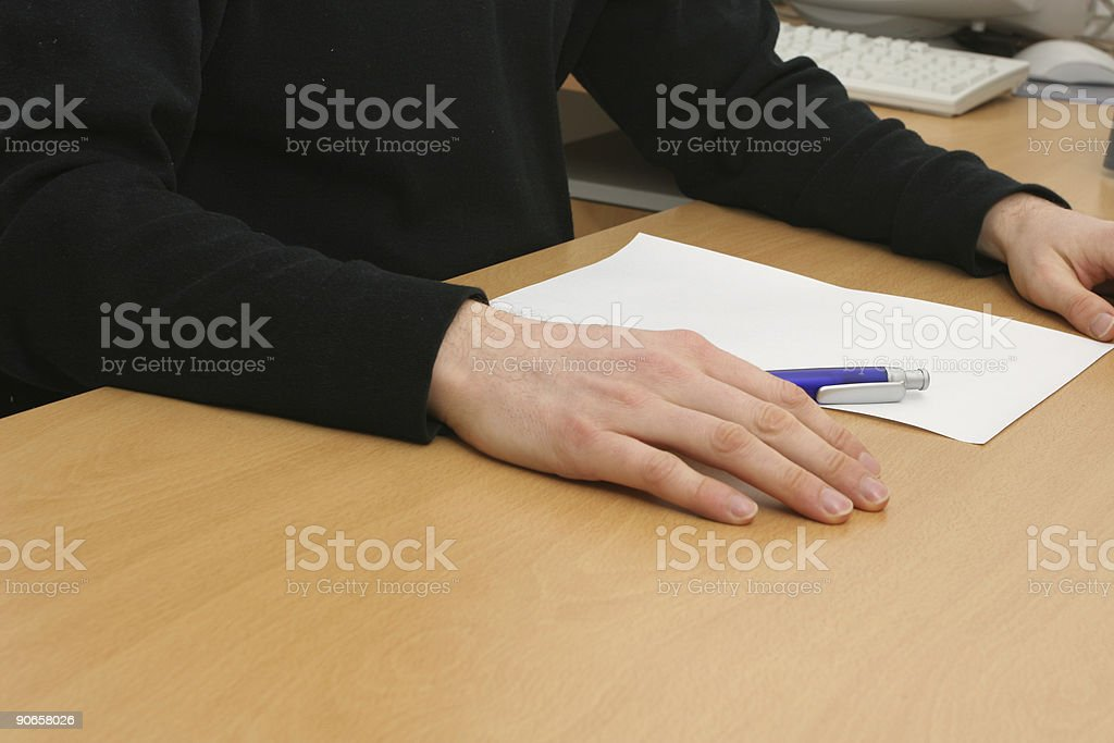 Brainstorming for ideas royalty-free stock photo