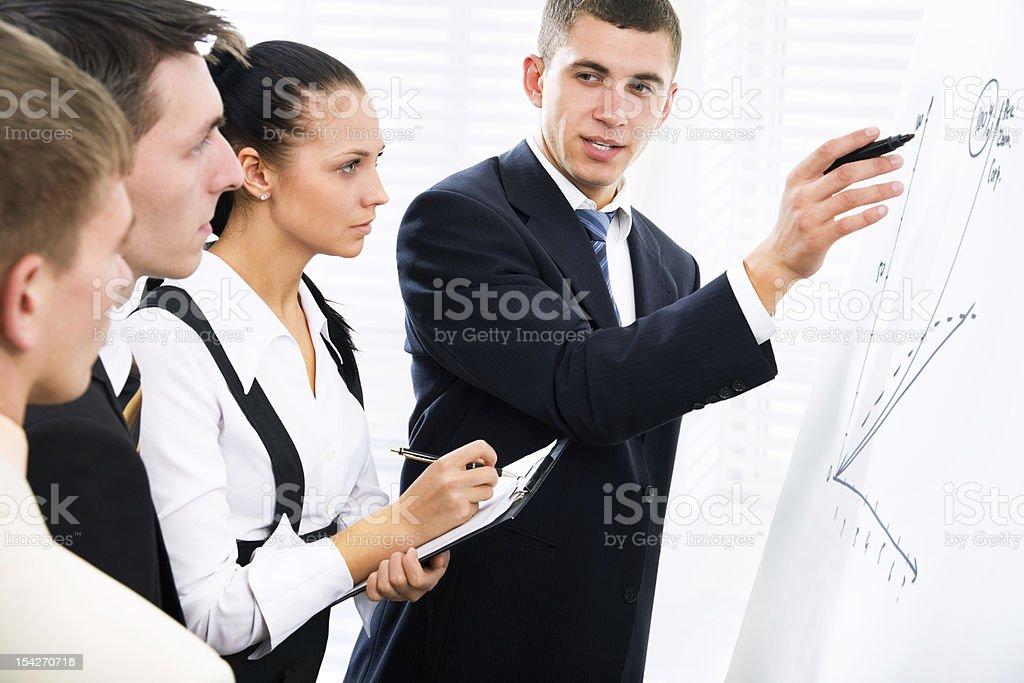 Brainstorming royalty-free stock photo