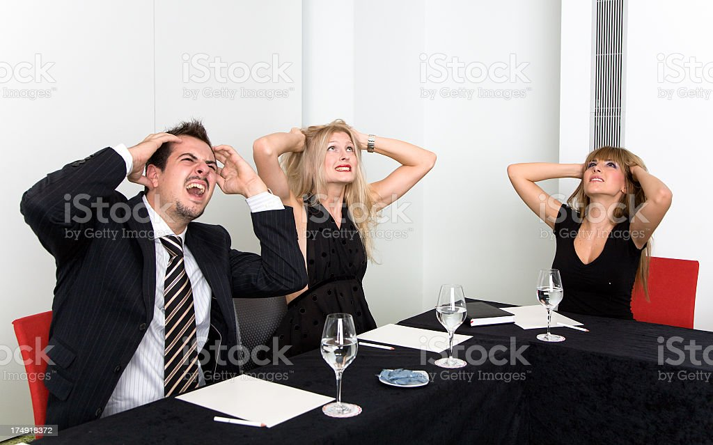 Brainstorming royalty-free stock photo