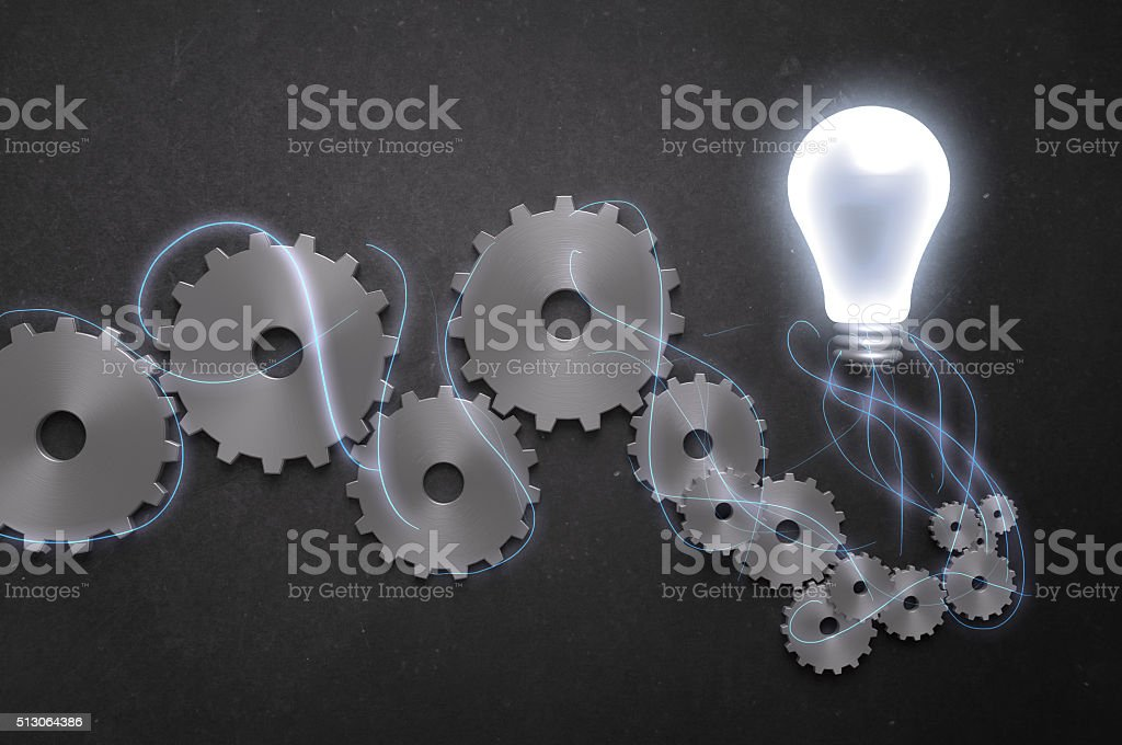 Brainstorming! stock photo