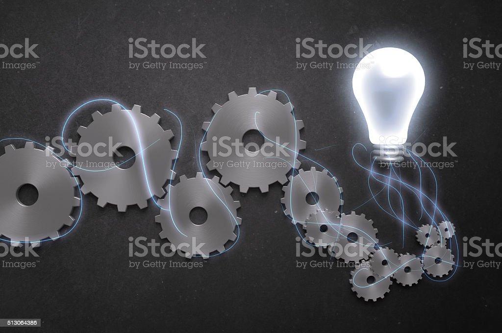 Brainstorming! stock photo