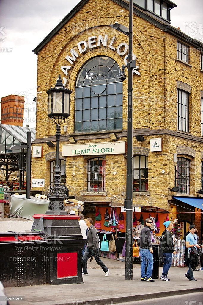 Braintree Hempstore in Camden Town, London stock photo