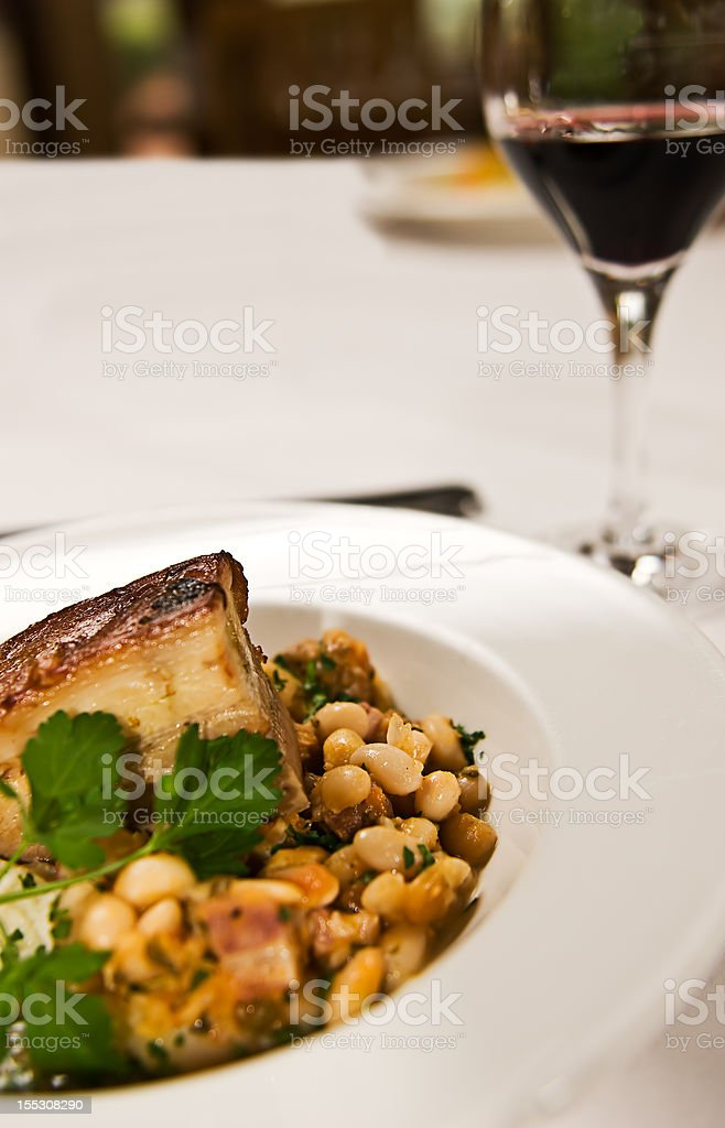 Braised Pork Belly royalty-free stock photo