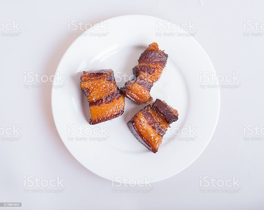 Braised Pork stock photo