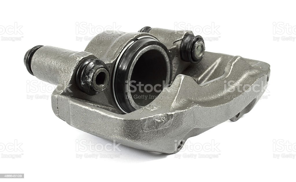 Brake caliper stock photo