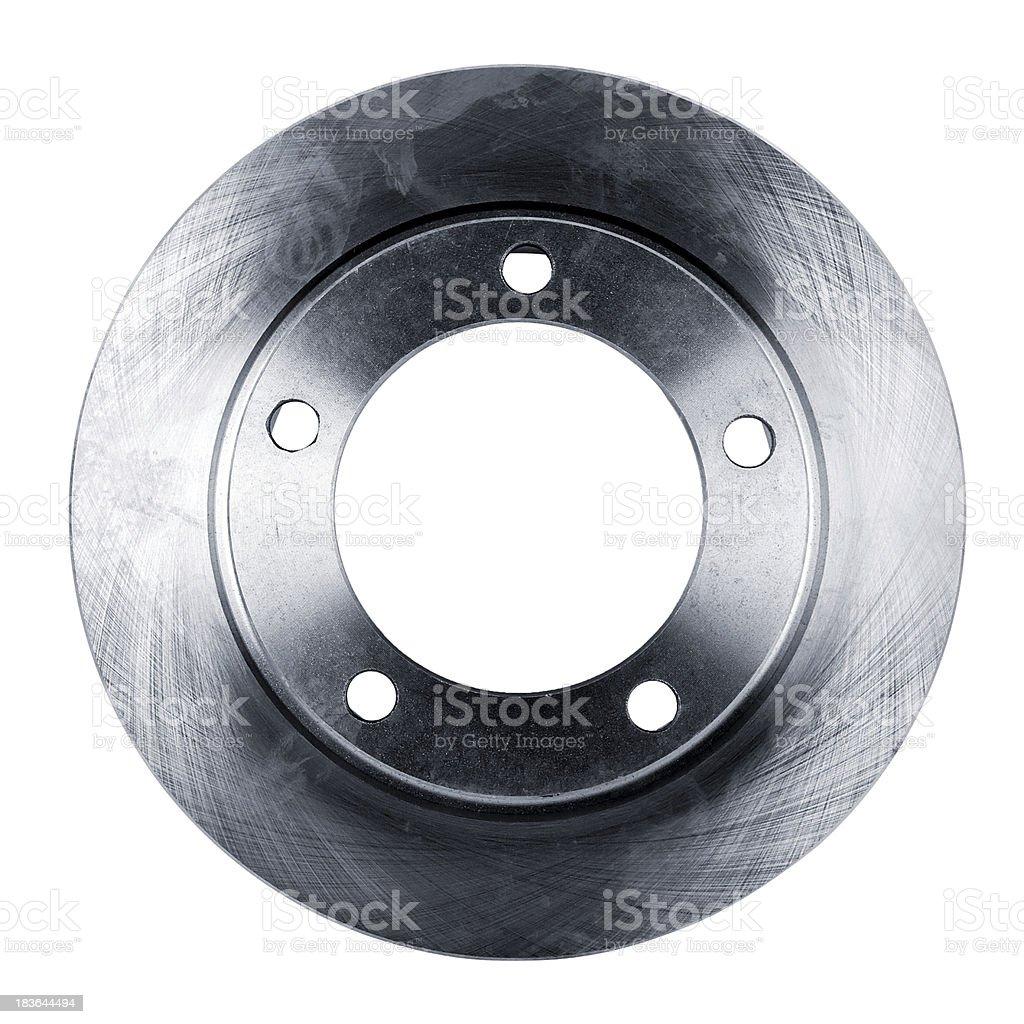 brake disc isolated on white stock photo