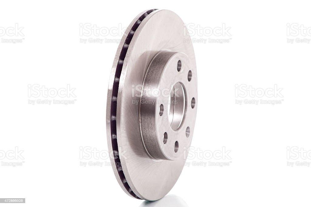 Brake disc stock photo