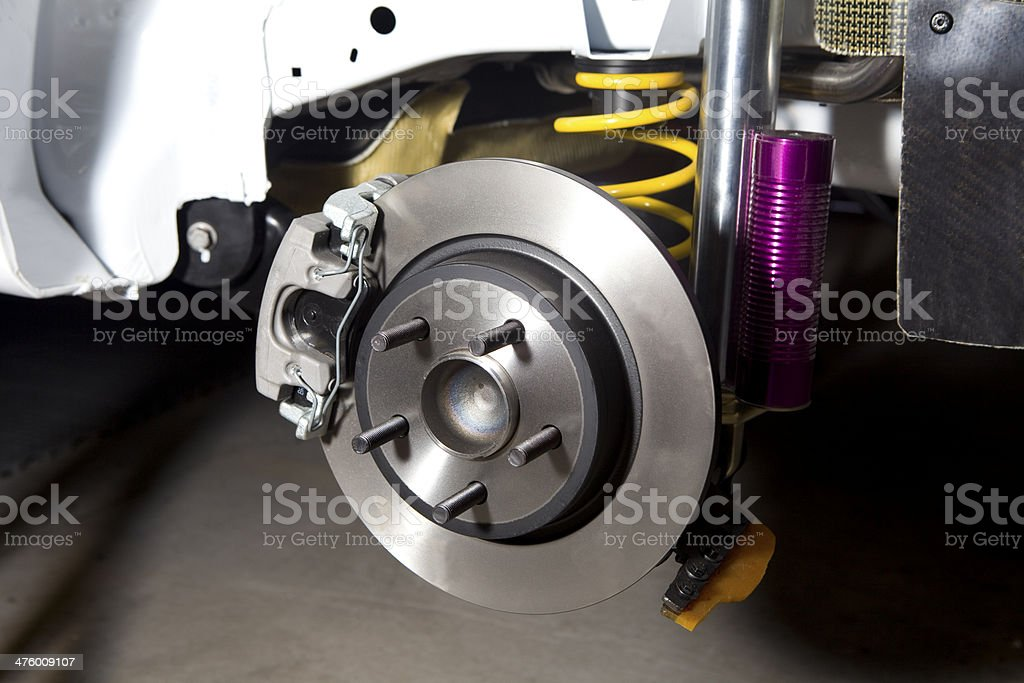 Brake disc. stock photo