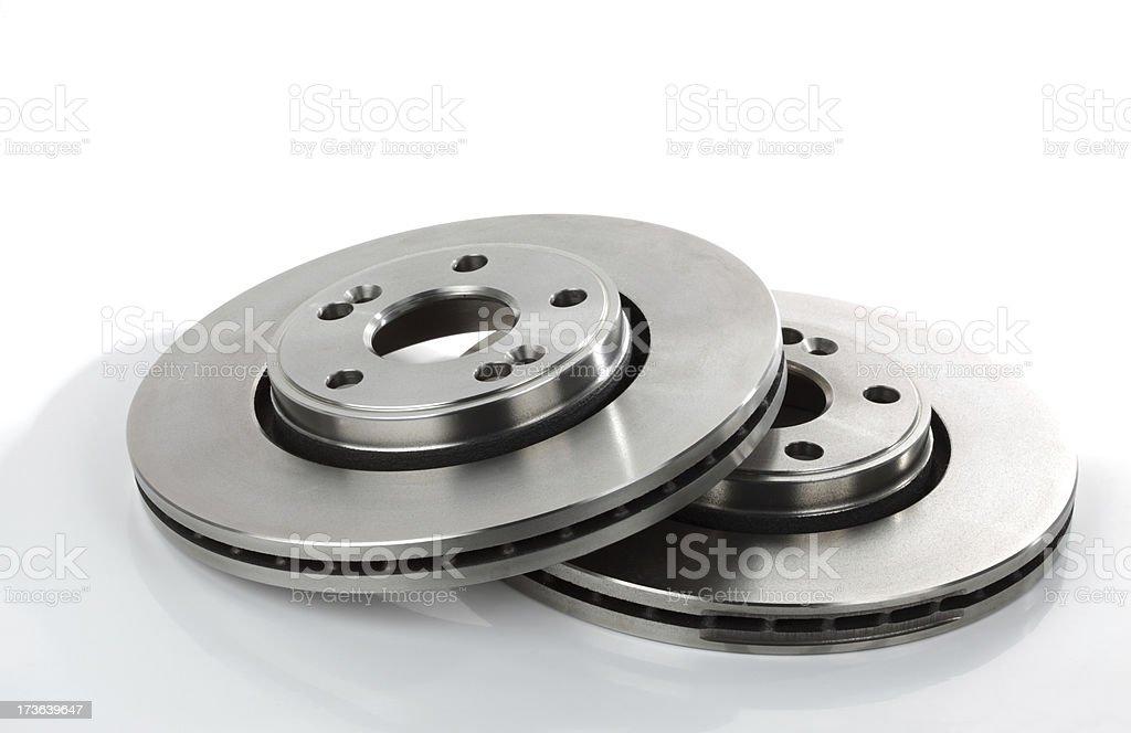 Brake Discs 2 royalty-free stock photo