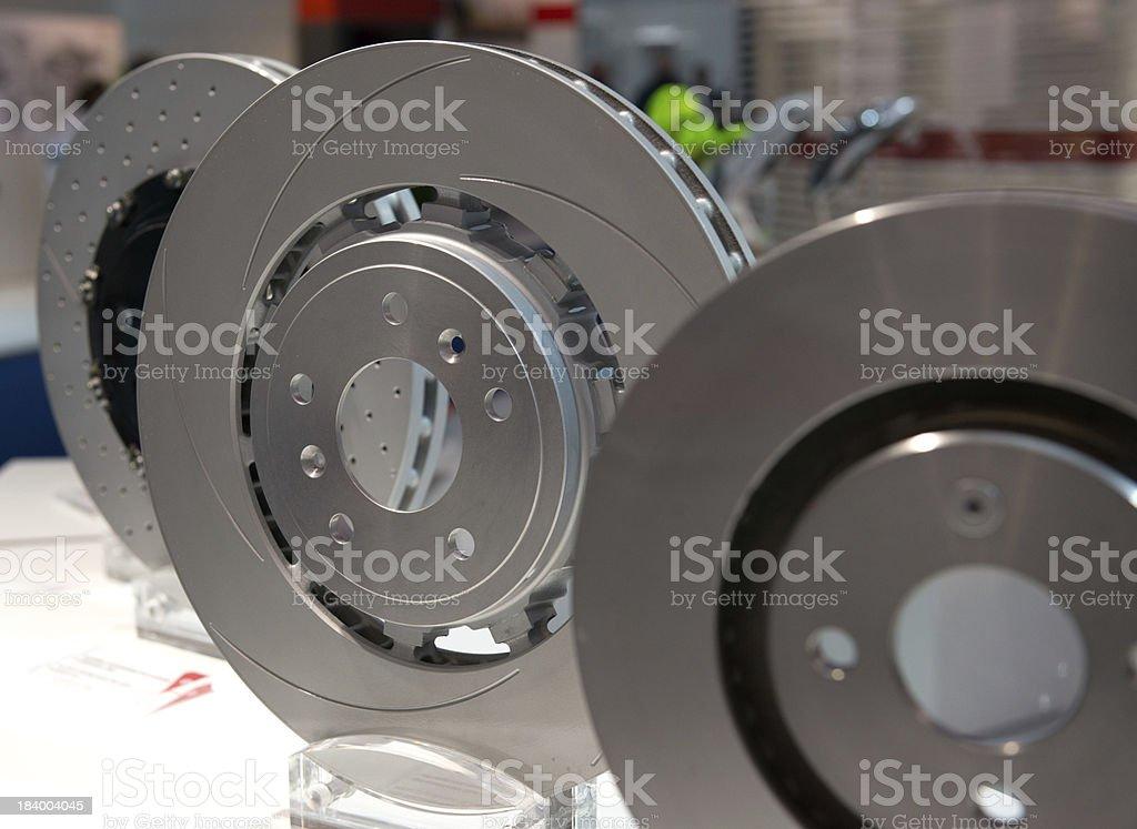 Brake Discs stock photo