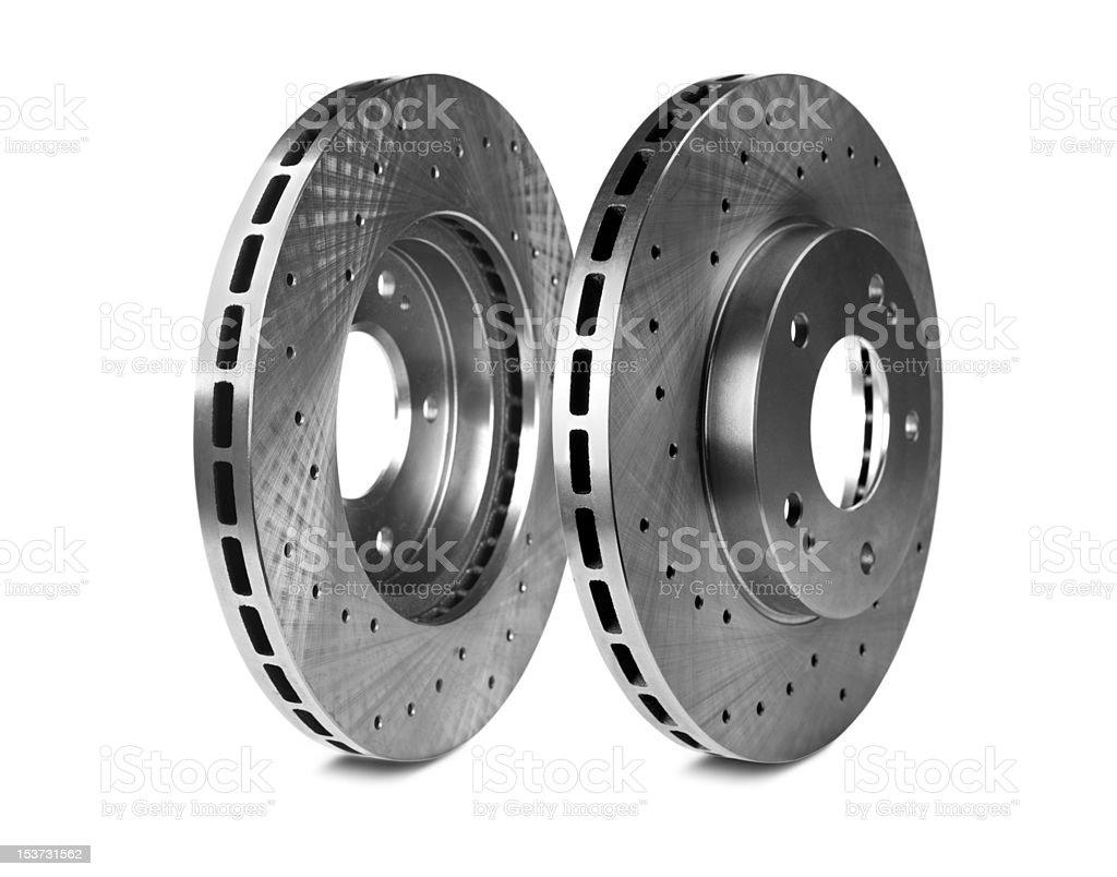 Brake disk royalty-free stock photo