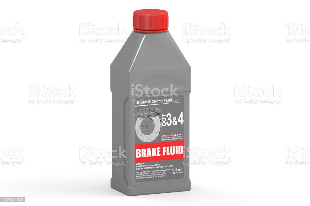 Brake Fluid, 3D rendering stock photo