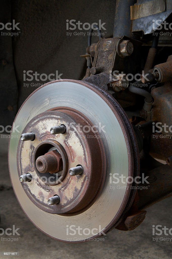 Brake Job royalty-free stock photo