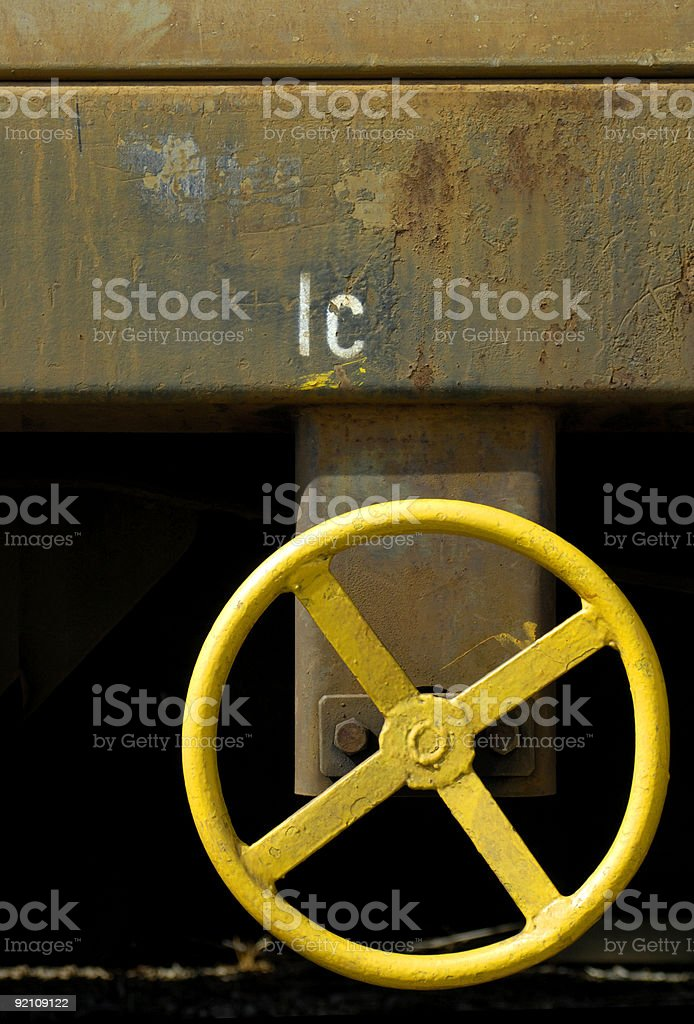 Brake One-Cee royalty-free stock photo
