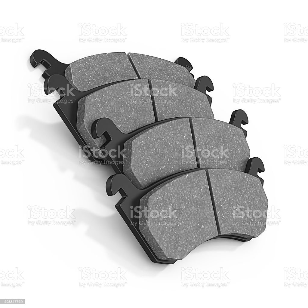 brake pads stock photo