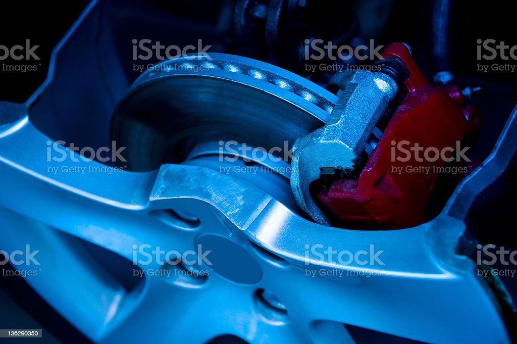 brake parts royalty-free stock photo