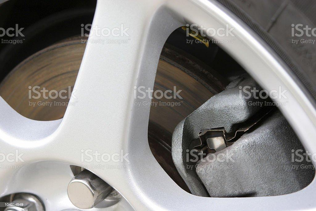 ABS brake stock photo