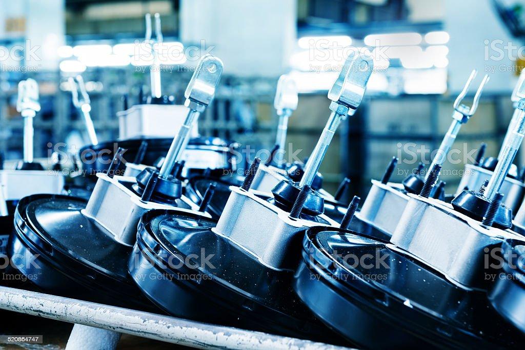 Brake pump stock photo