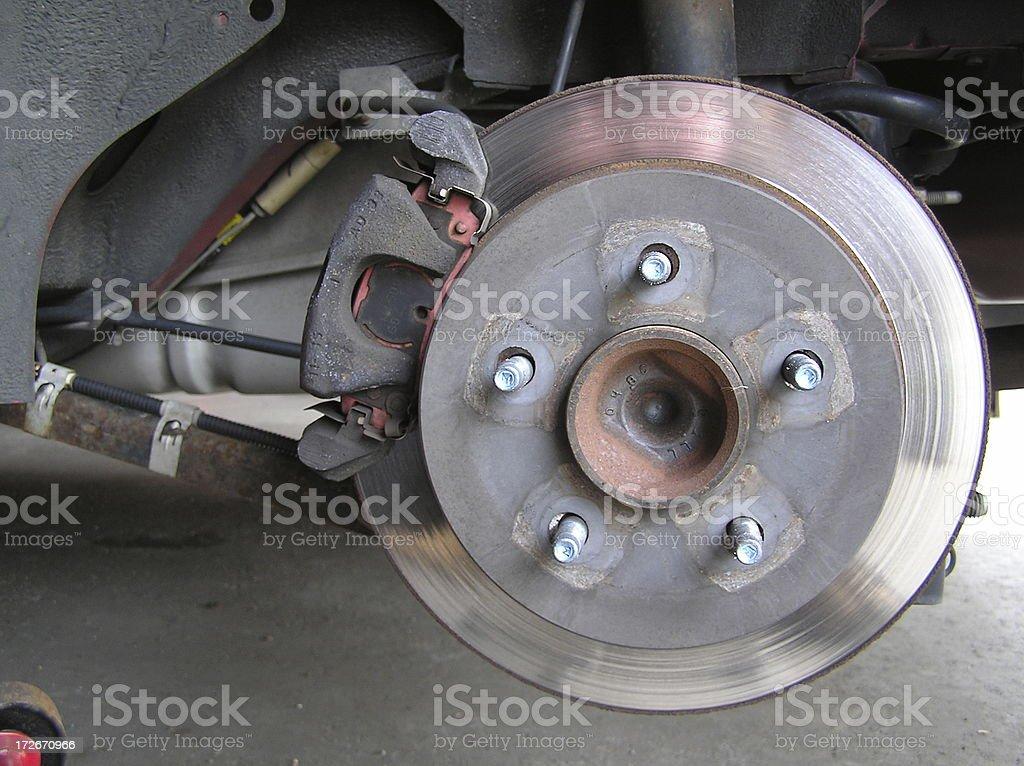 Brake Rotor stock photo