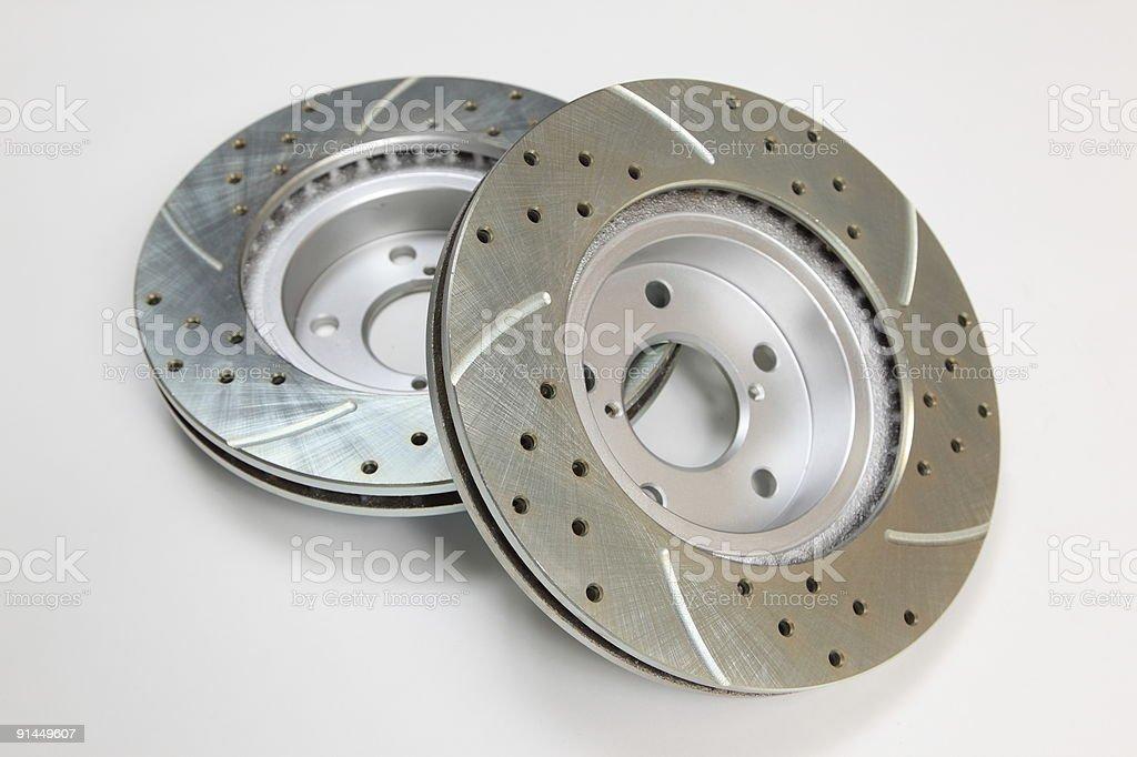Brake Rotors royalty-free stock photo