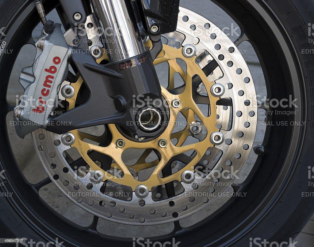 Brake system royalty-free stock photo